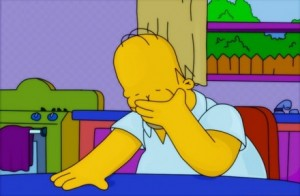 Homer+Facepalm