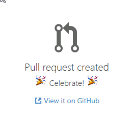 Succesfull Pull Request